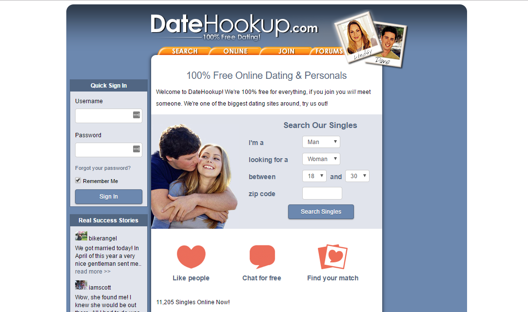 Welcome to Free-DateHookup.com