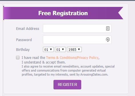 Arousing Dates virtual profiles