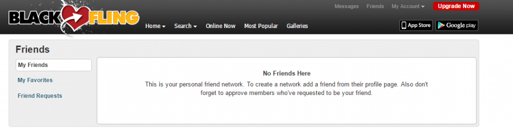 BlackFling.com real friends network