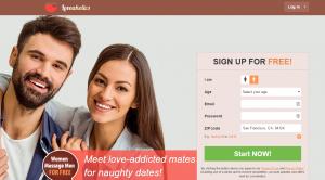 Loveaholics.com screencap