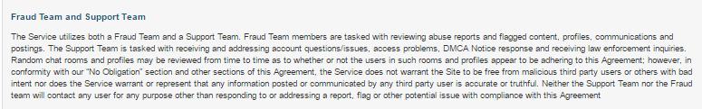 VerifiedProfiles.com Fraud and Support Team