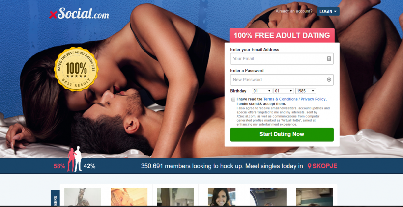 Xsocial dating site