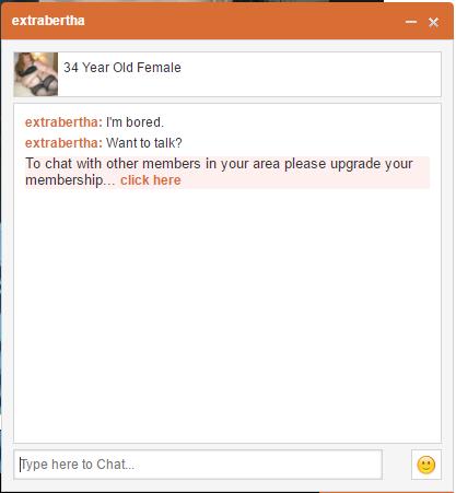 BBW Desire chat upgrade