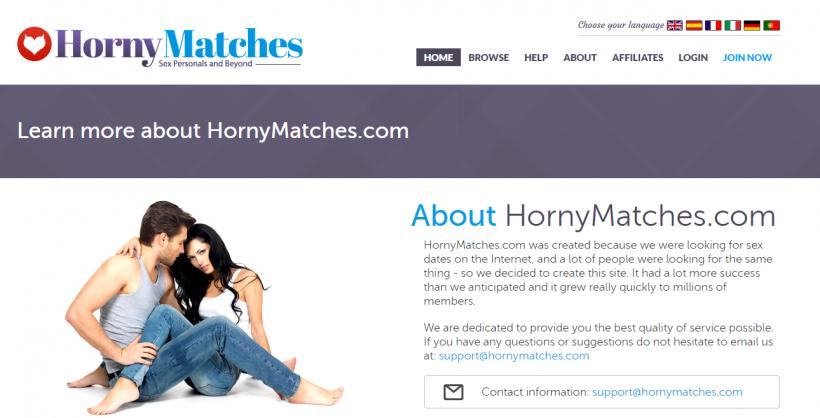 Www hornymatches com