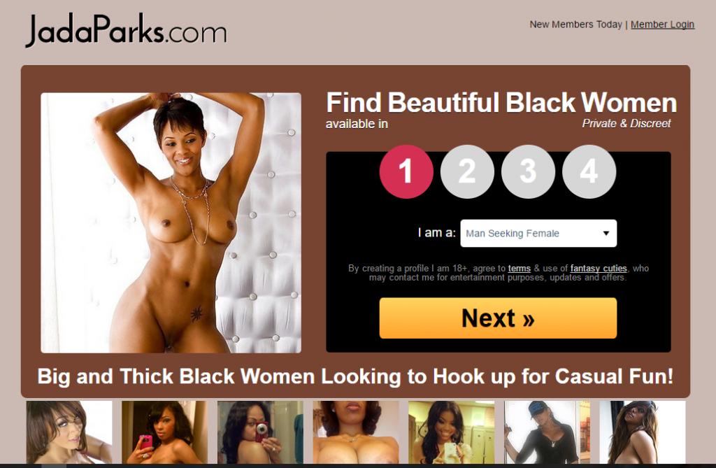 JadaParks.com screencap