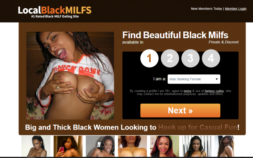 Localblackmilfs com