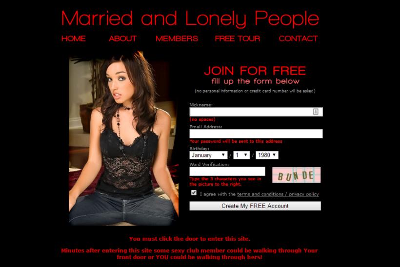 MarriedandLonelyPeople.com