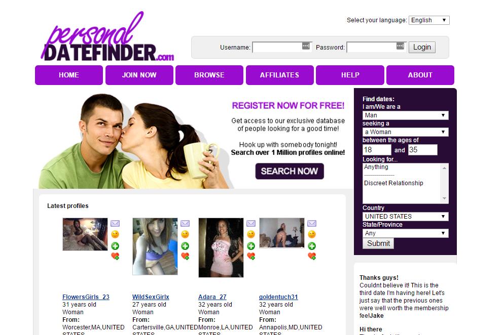 Personaldatefinder.com screencap