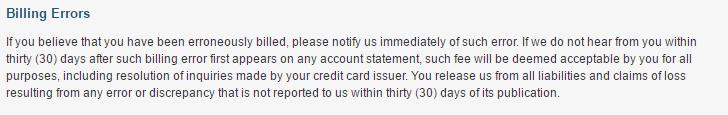 420bang me correcting billing errors