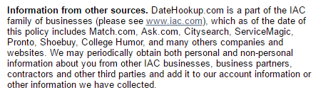 Date Hookup network