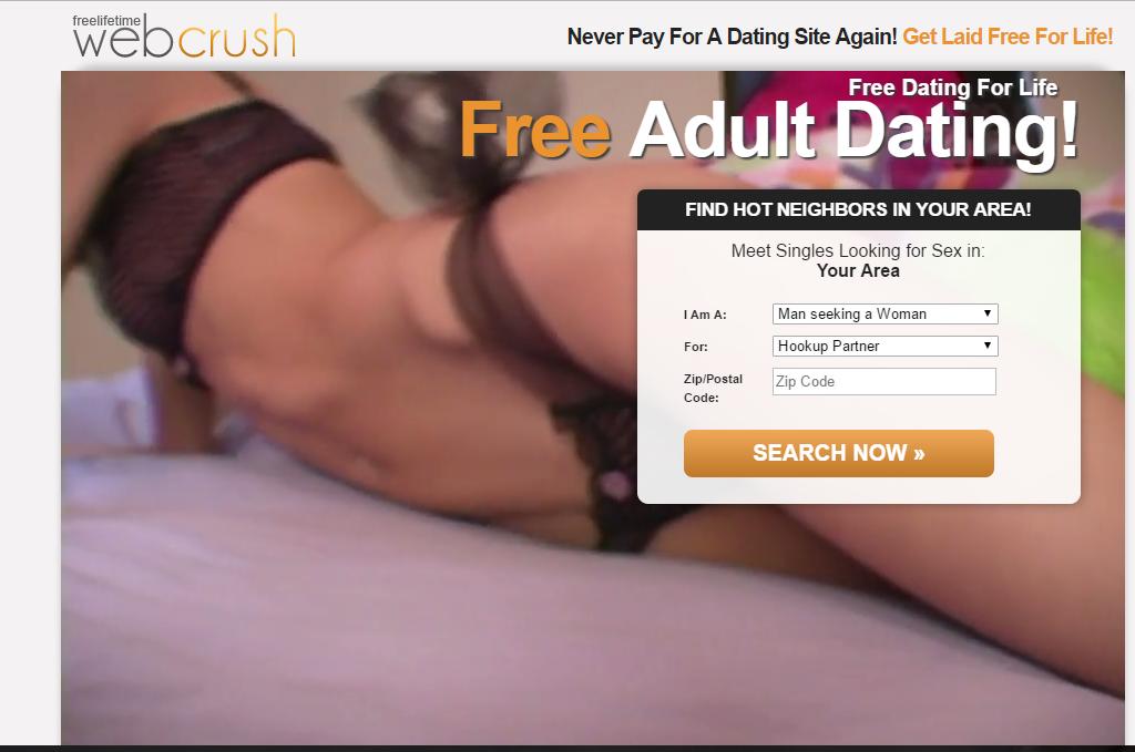 FreelifetimeWebCrush.com screencap