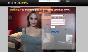 Fucknow.com screencap