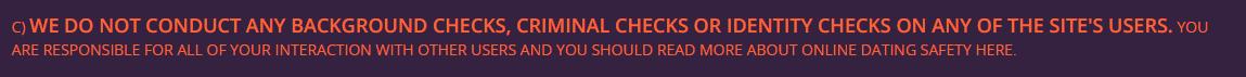wilddate4sex no background checks