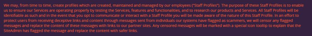 wilddate4sex staff profiles