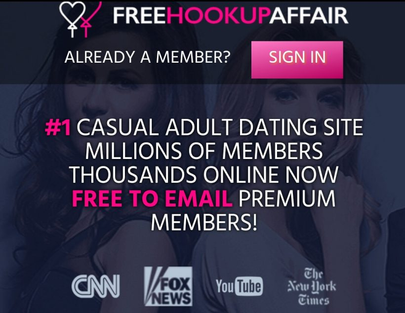 free hookup affair review