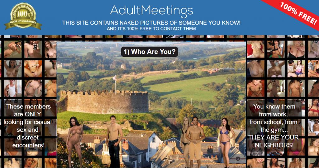 AdultMeetings.com screencap