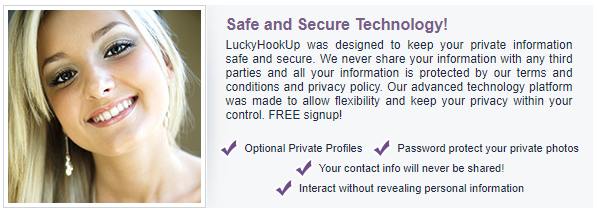 Lucky Hookup security