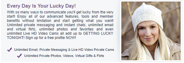 Lucky Hookup features