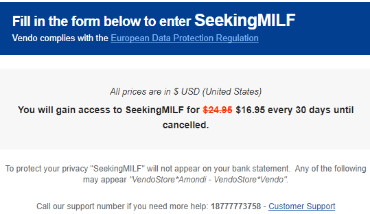 Seeking Milf discount