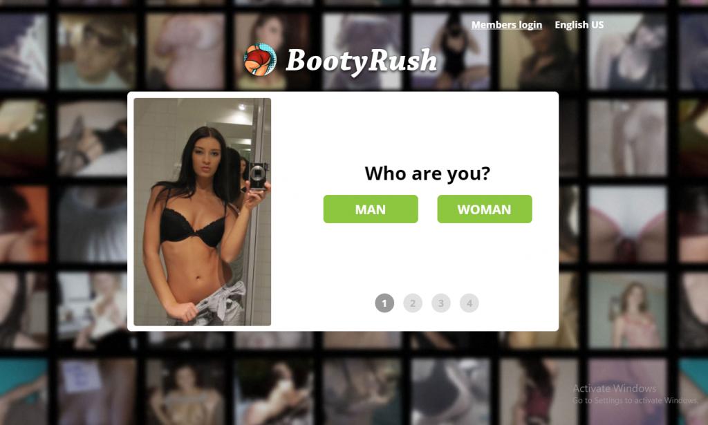 BootyRush.com screencap