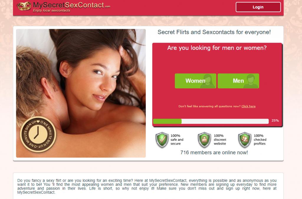 MySecretSexContact.com screencap