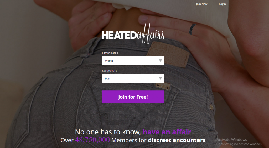HeatedAffairs.com screencap