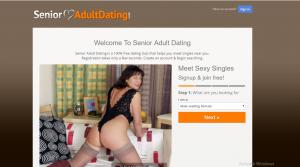 SeniorAdultDating.com screencap