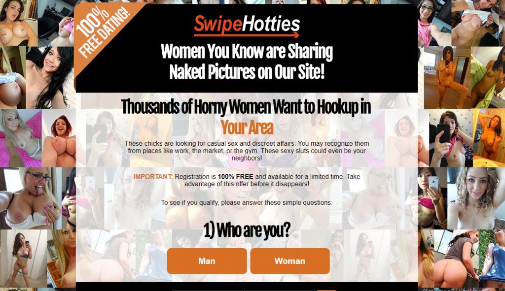 SwipeHotties.com screencap