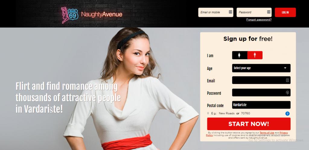 NaughtyAvenue.com screencap
