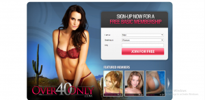 Over40Only.com screencap
