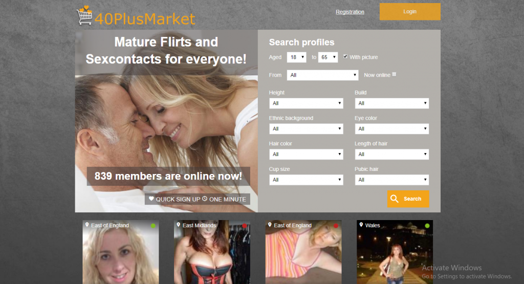 40plusmarket.com screencap