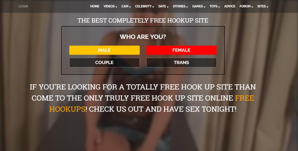 FreeHookups.com screencap