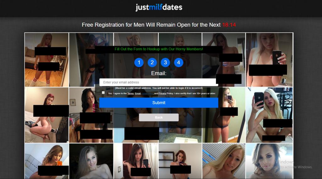 JustMilfDates.com screencap