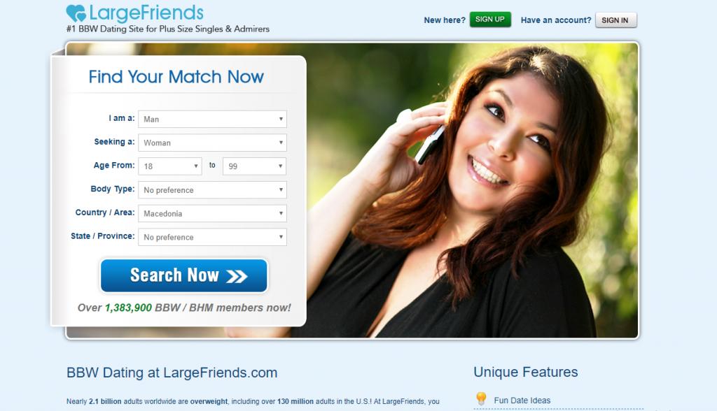 LargeFriends.com screencap