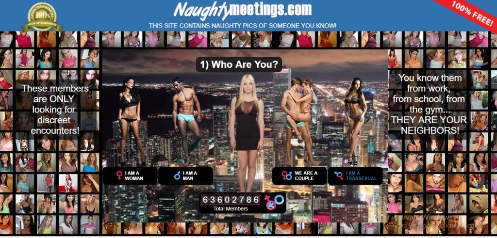 NaughtyMeetings.com screencap