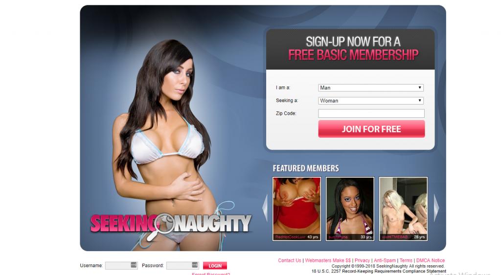 SeekingNaughty.com screencap