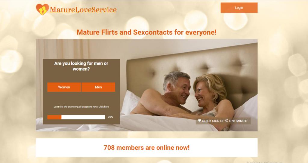 matureloveservice.com screencap