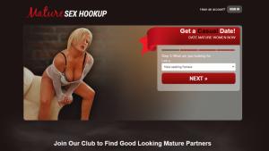 MatureSexHookup.com screencap