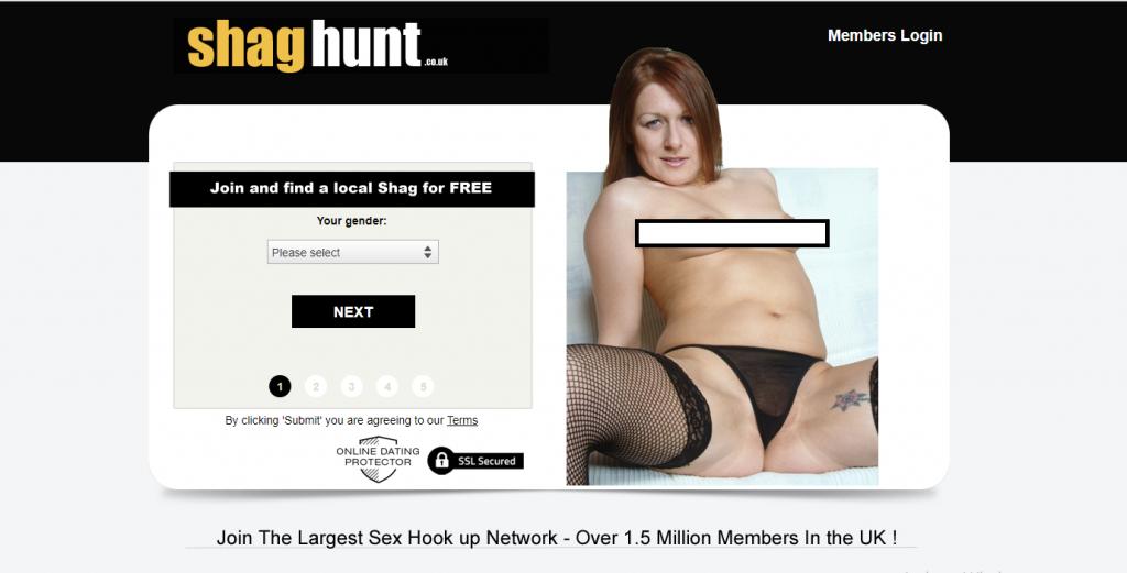 ShagHunt.co.uk screencap