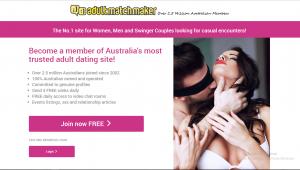 AdultMatchMaker.co.au screencap
