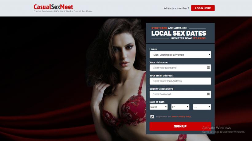 CasualSexMeet.com screencap
