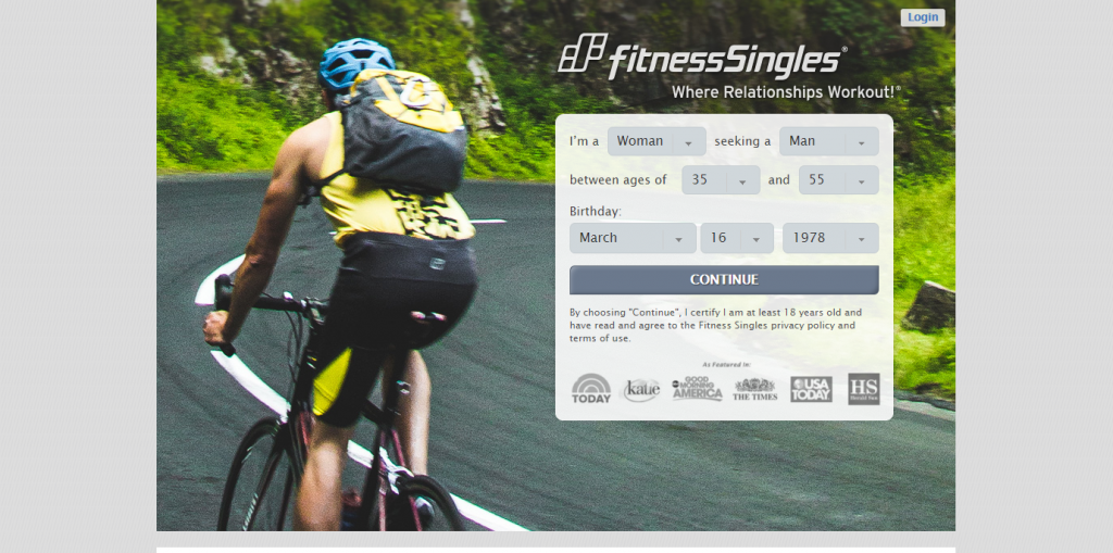 Fitness-singles.com screencap