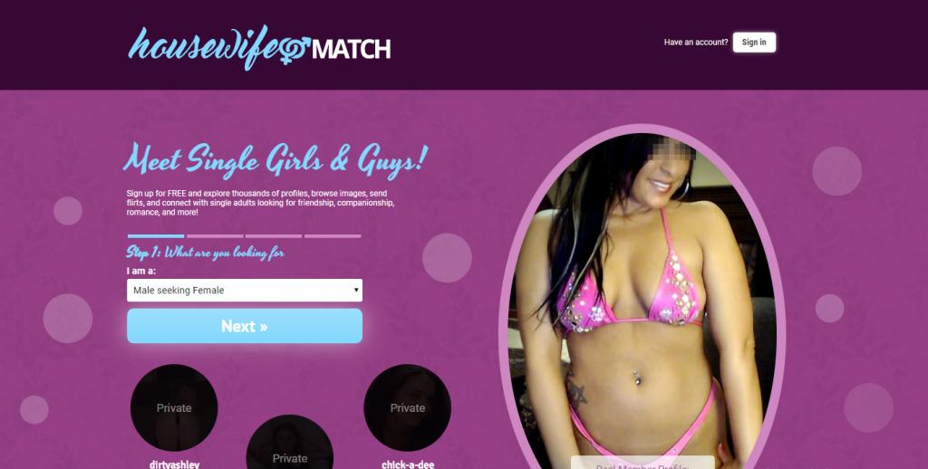 HousewifeMatch.com screencap
