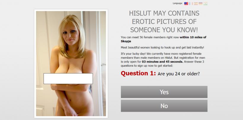 HiSlut.com screencap