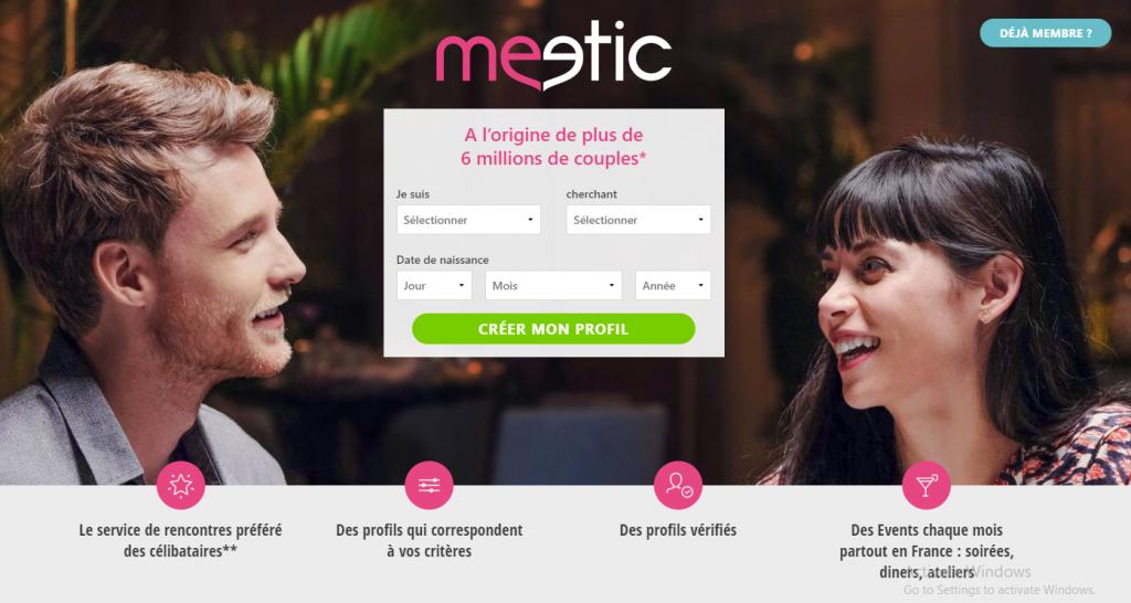 Meetic.fr screencap