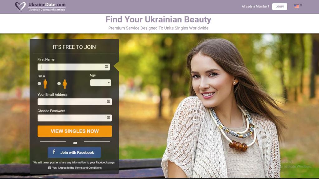 Ukrainedate.com screencap