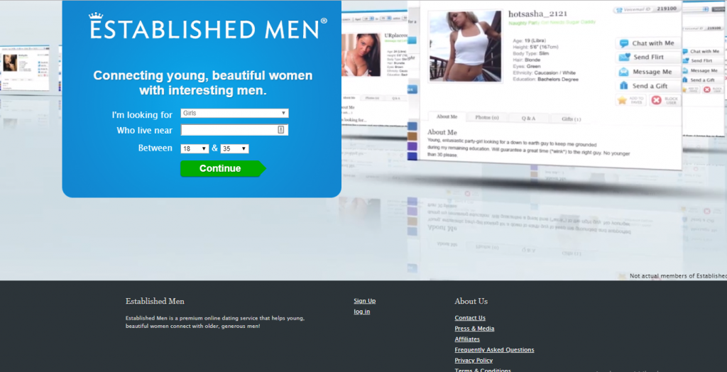 establishedmen.com screencap