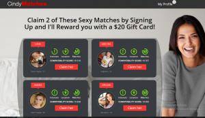CindyMatches.com screencaps