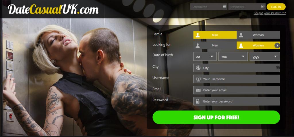 DateCasualUK.com screencap