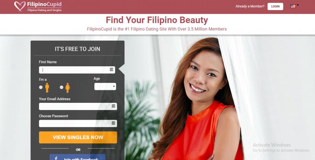 FilipinoCupid.com screencap